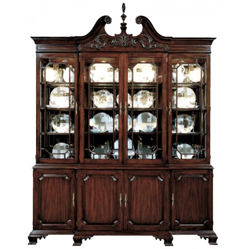 Henkel Harris Breakfront China Cabinet Model 2382