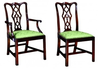 Gentil Chippendale Dining Chair #115A/115S