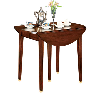 Henkel Harris Mahogany Washington Dropleaf Dining Table
