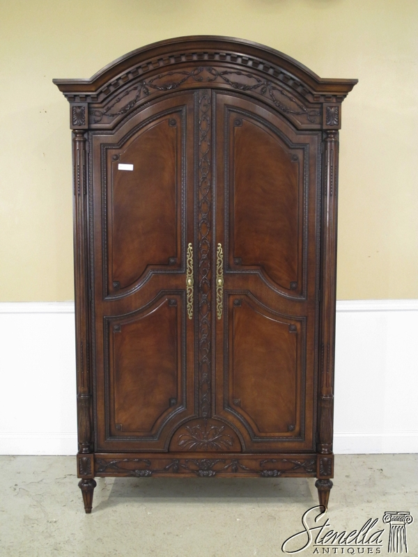 EJ VICTOR French Louis XVI Wardrobe Armoire