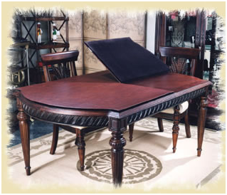 wwwstenellaantiquescom - Custom Table Pads For Dining Room Tables